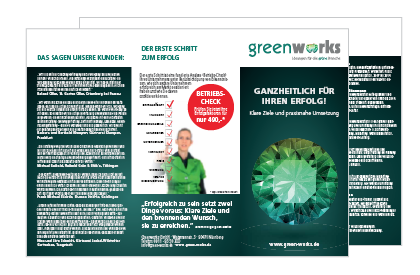Greenworks Flyer